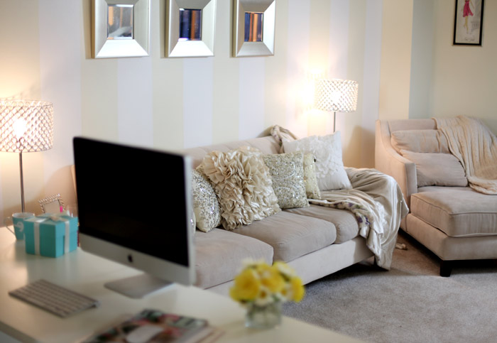 7 Apartment Decorating And Small Living Room Ideas: Fashion, Style, Lifestyle & Beauty Blog By