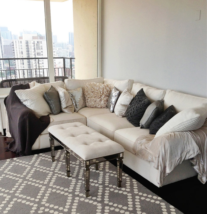 The Perfect Gray Paint Gray Apartments Carly Cristman