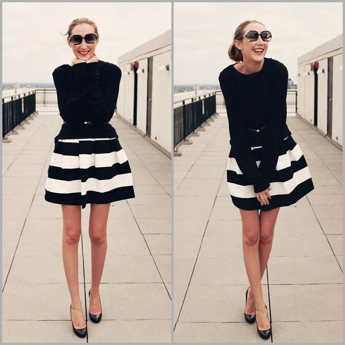 My Style Diary Black And White Carly Cristman