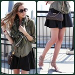 My Style Diary: Skater Skirts && Military Shirts