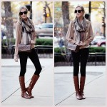 Layered Neutrals: Cute Fall Outfit!