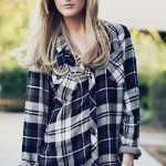 Flannel Shirts for Fall + Outfit of the Day video with NikkiPhillippi