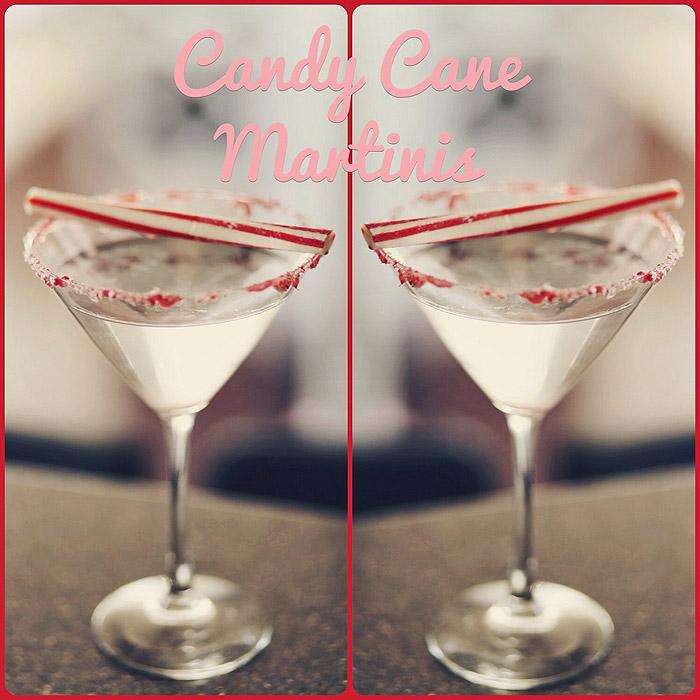Candy Cane Martini Recipe  Peppermint Martini for Christmas