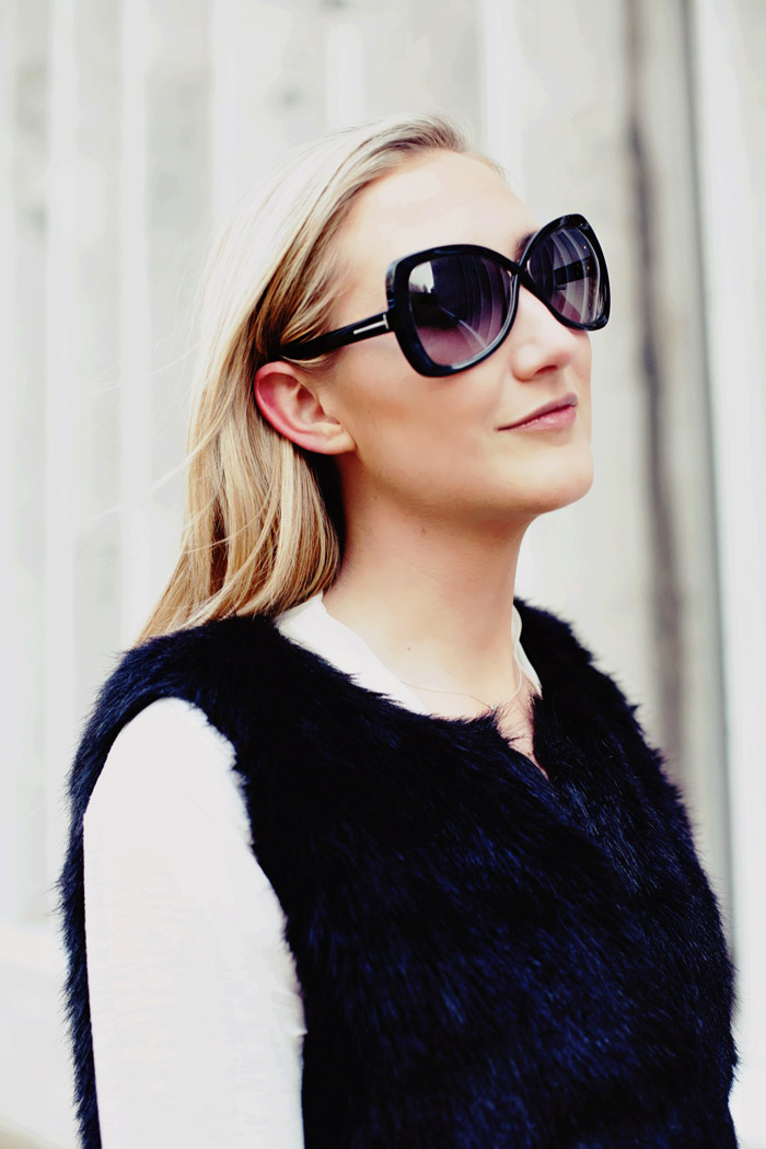 Carly Cristman Fashion Week 2014