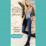 Win $1000 Shopping Spree with maurices!