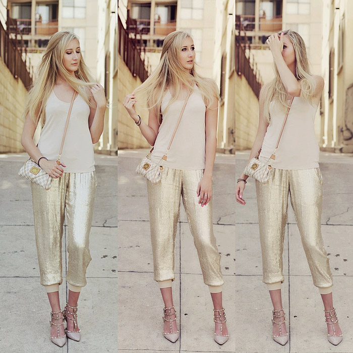 My Style Diary: Sequin Harem Pants
