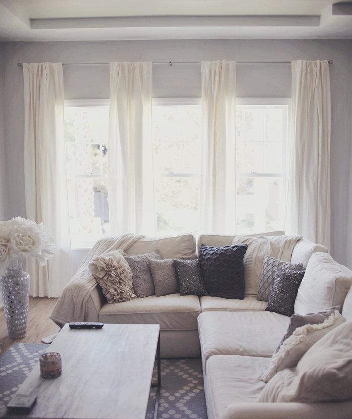 My home diary new curtains carly cristman bloglovin for Furnishing first home